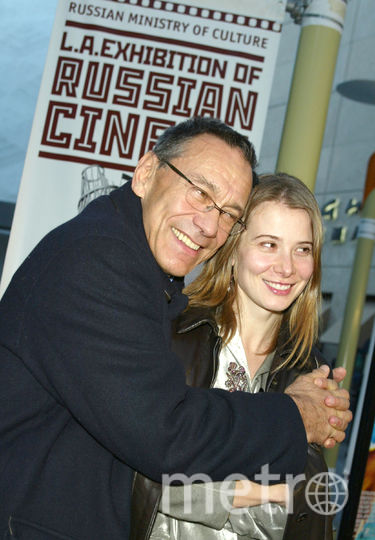 Андрей Кончаловский и Юлия Высоцкая. Фото Getty
