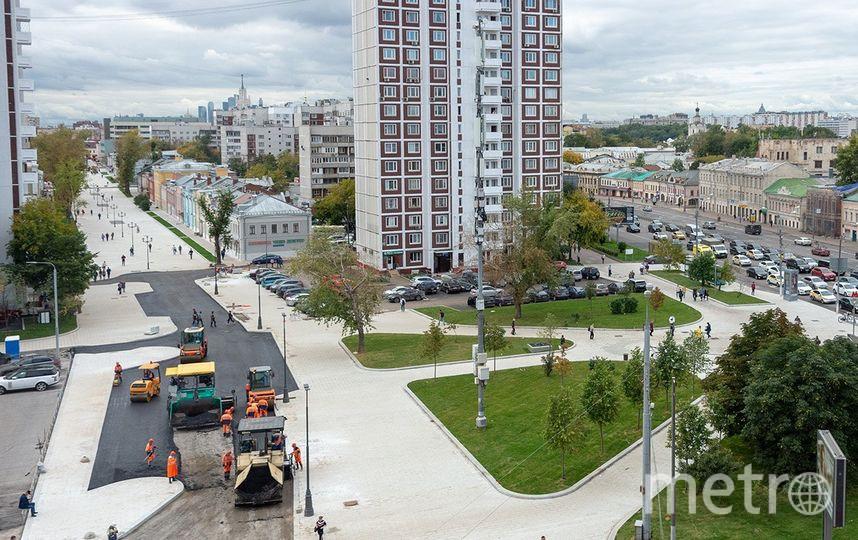 Улица Школьная в Таганском районе Москвы. Фото пресс-служба Мэра и Правительства Москвы, Денис Гришкин