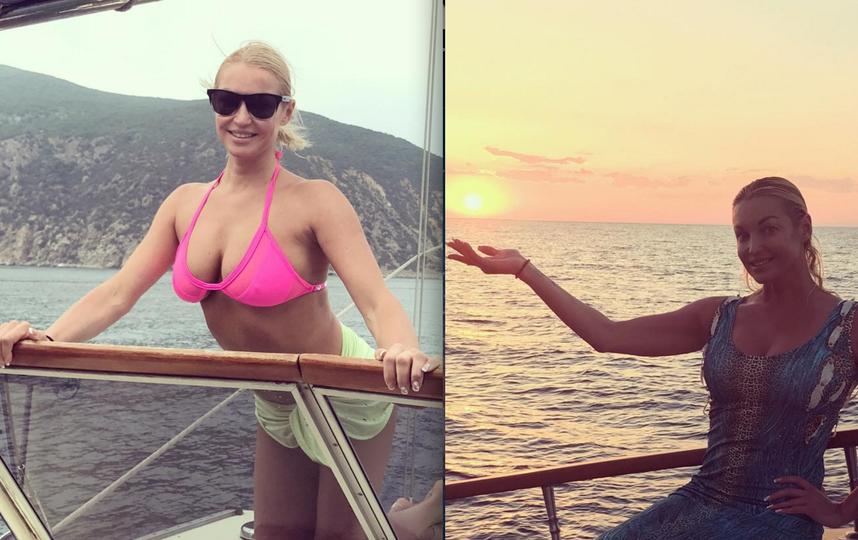 Анастасия Волочкова начала худеть уже полгод аназад (2019/2017). Фото instagram.com/volochkova_art