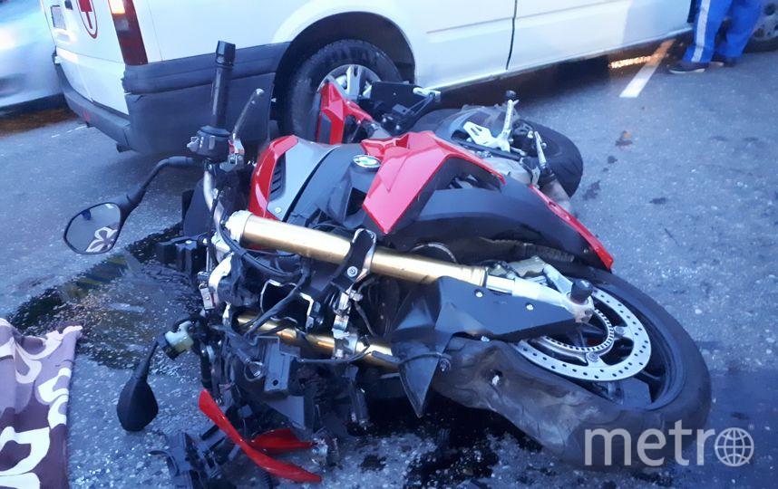 В Ленобласти насмерть сбили мотоциклиста. Фото ДТП и ЧП | Санкт-Петербург | Питер Онлайн | СПб, vk.com