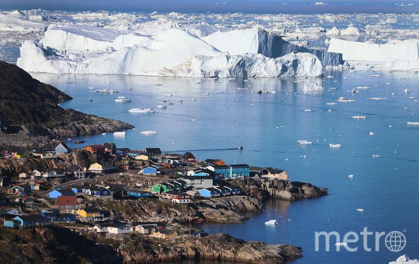Гренландия. Фото Getty