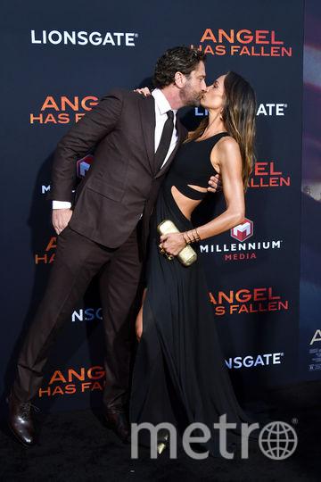 Джерард Батлер и его возлюбленная Морган Браун. Фото Getty