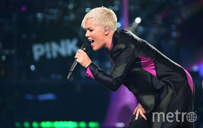 Певица Pink. Фото Getty