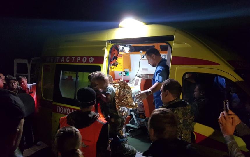 Пропавшую в Нижегородской области девочку нашли живой. Фото СК РФ по Нижегогородской области.