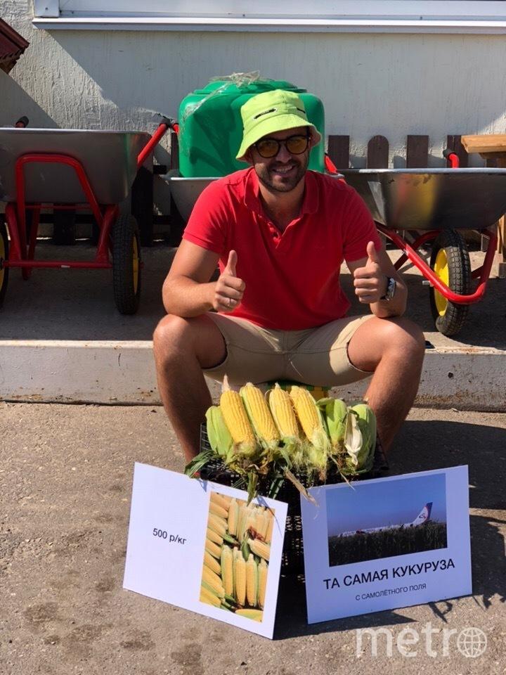 Продавец кукурузы с поля, куда сели пилоты-герои, ответил на обвинения в обмане