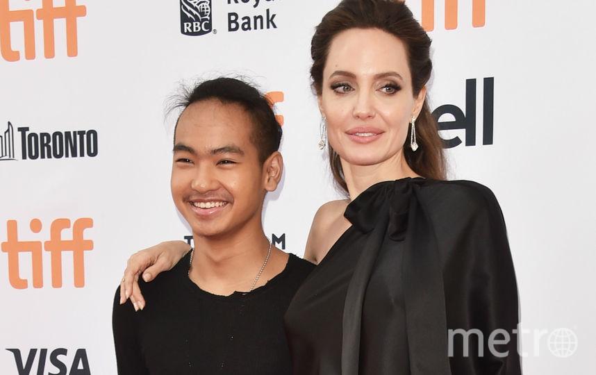 Джоли и Мэддокс в 2017-м. Фото Getty