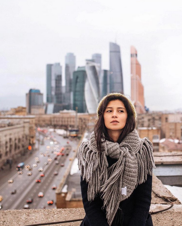 Равшана Куркова. Фото Скриншот Instagram: @rav_shana