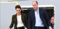 Кейт Миддлтон и принц Уильям с детьми прилетели в Шотландию бюджетным рейсом