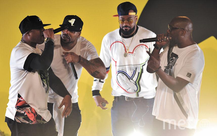 "Концерт ""Wu-Tang Clan"". Фото Getty"