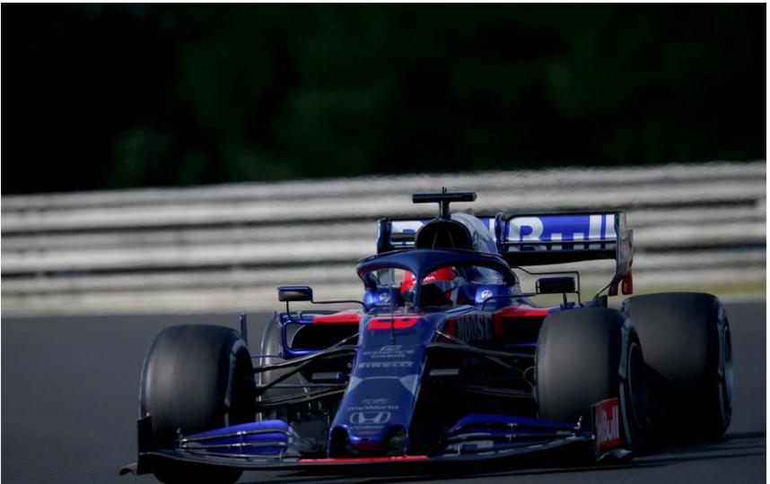 Toro Rosso Showrun - Даниил Квят примет участие в заездах. Фото Getty