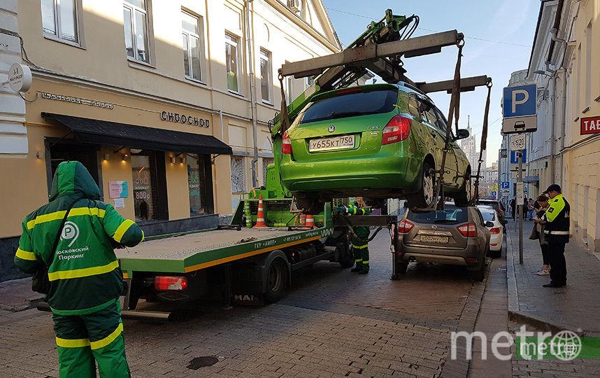 Москвичей просят остерегаться мошенников при возврате эвакуированного авто. Фото Василий Кузьмичёнок