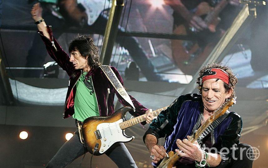 Группа The Rolling Stones. Фото Getty