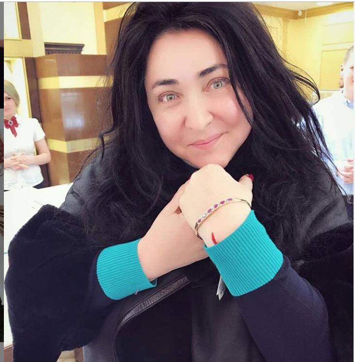 2017-й год. Фото Скриншот instagram.com/lolitamilyavskaya.