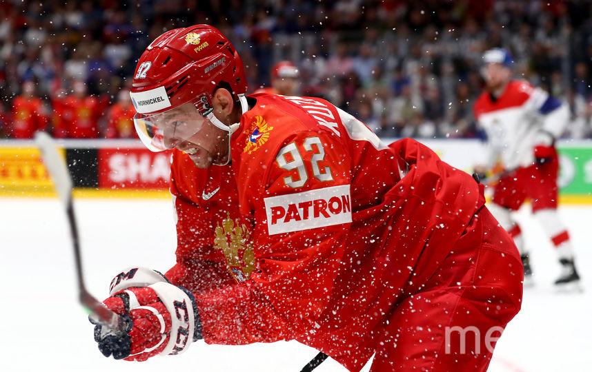 Евгений Кузнецов в матче за сборную на ЧМ-2019. Фото Getty
