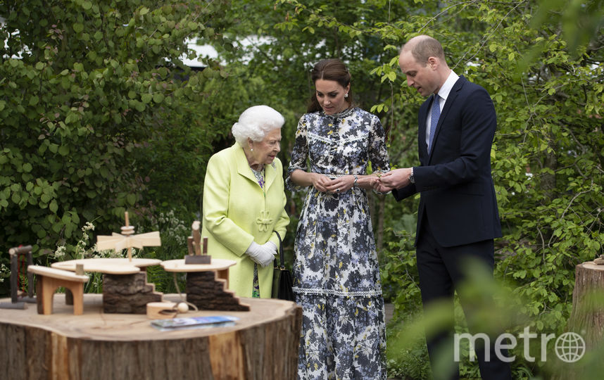 Елизавете II показали сад после реконструкции, июль 2019. Фото Getty
