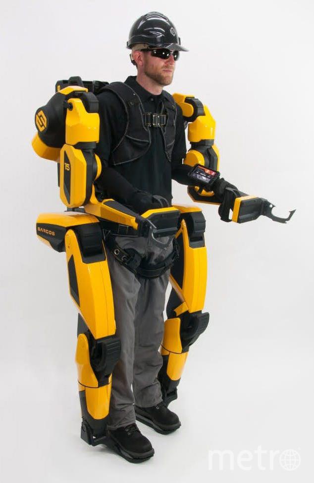Экзоскелеты. Фото Sarcos Robotics