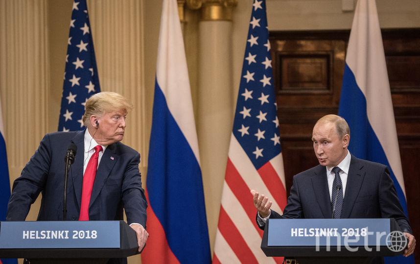 Встреча Трампа и Путина. Фото Getty
