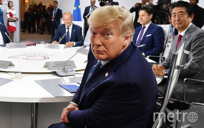 Дональд Трамп на саммите G7 во Франции. Фото Getty