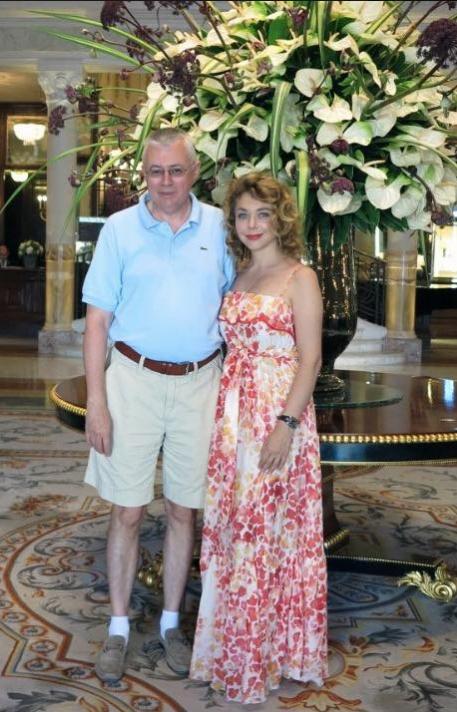 Божена Рынска и Игорь Малашенко. Фото facebook.com/bozhena.rynska/photos