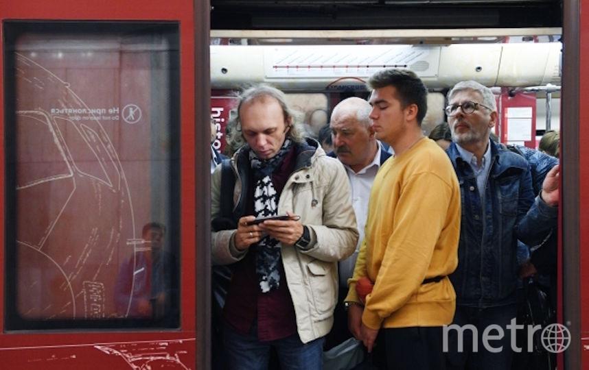 Пассажиры столичной подземки легко смогут узнать, как перейти на МЦД или на МЦК. Фото РИА Новости