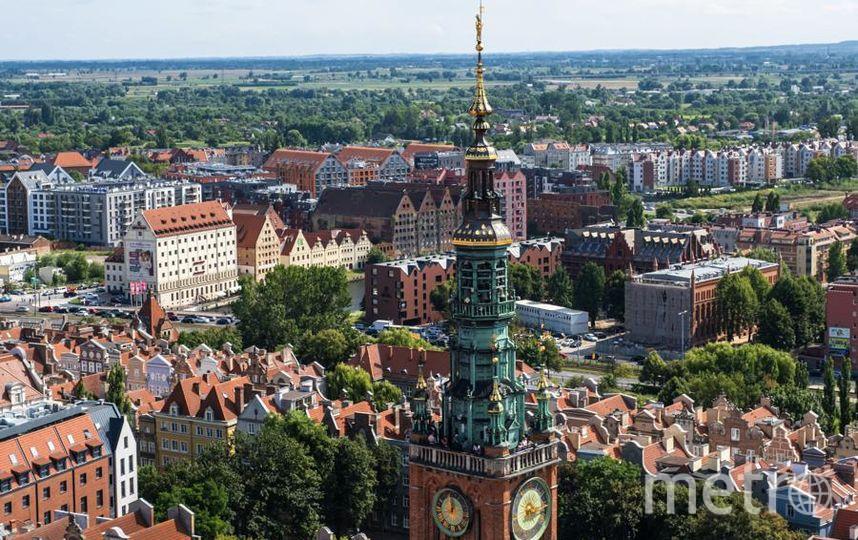 """Современный Гданьск выглядит почти так же, как на довоенных фотографиях. Фасады всех исторических зданий были восстановлены. Фото Алена Бобрович, """"Metro"""""""