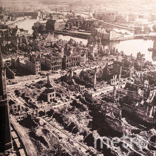 """В 1945 году исторический центр Гданьска был разрушен почти до основания. Его хотели сравнять с землей и построить новый город. Но приняли решение восстановить исторический облик. Фото Алена Бобрович, """"Metro"""""""