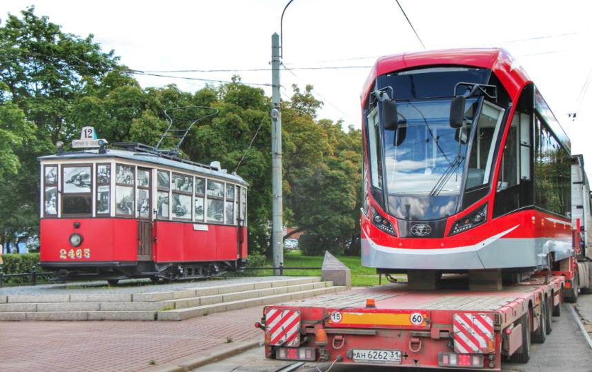 """2019 год становится по-настоящему знаковым для старейшего городского транспорта, который пришёл в Петербург до революции – в 1907 году. Фото СПб ГУП «Горэлектротранс», """"Metro"""""""