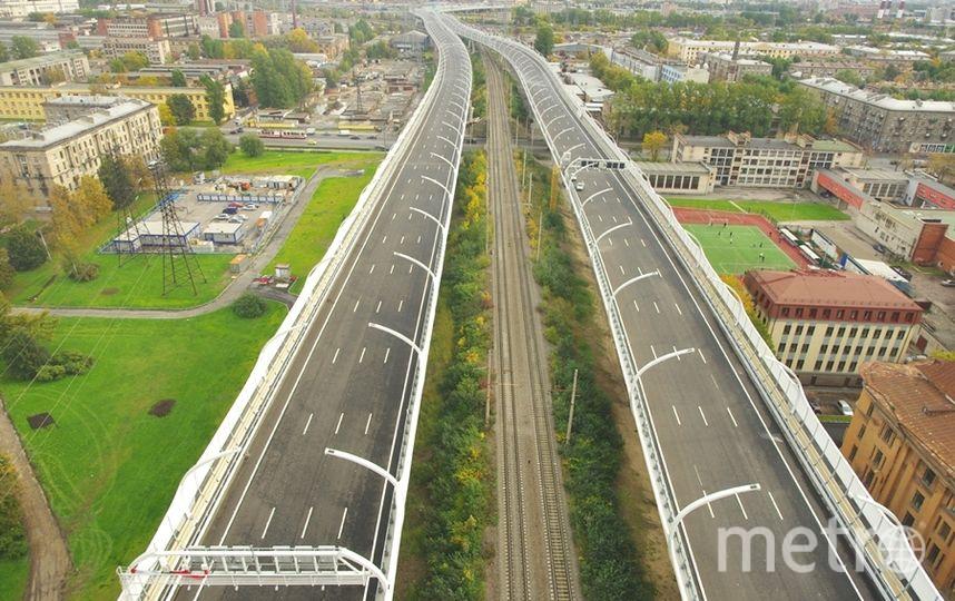 "на участке ЗСД от Е-18 «Скандинавия» до КАД (Север) будет закрыто движение в обоих направлениях. Фото ""Metro"""