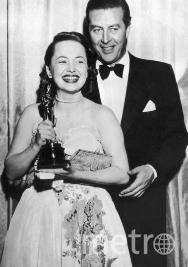 """Оливия Де Хэвилленд получила первый """"Оскар"""" в 1947-м году. Фото Getty"""