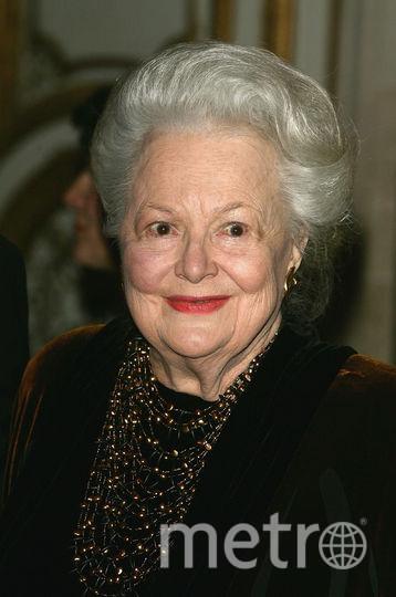 Оливия Де Хэвилленд в 2005-м году. Фото Getty