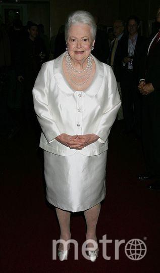 Оливия Де Хэвилленд в 2006-м году. Фото Getty