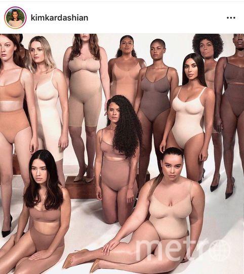 Ким Кардашьян представила новую коллекцию своего бренда белья. Фото Getty