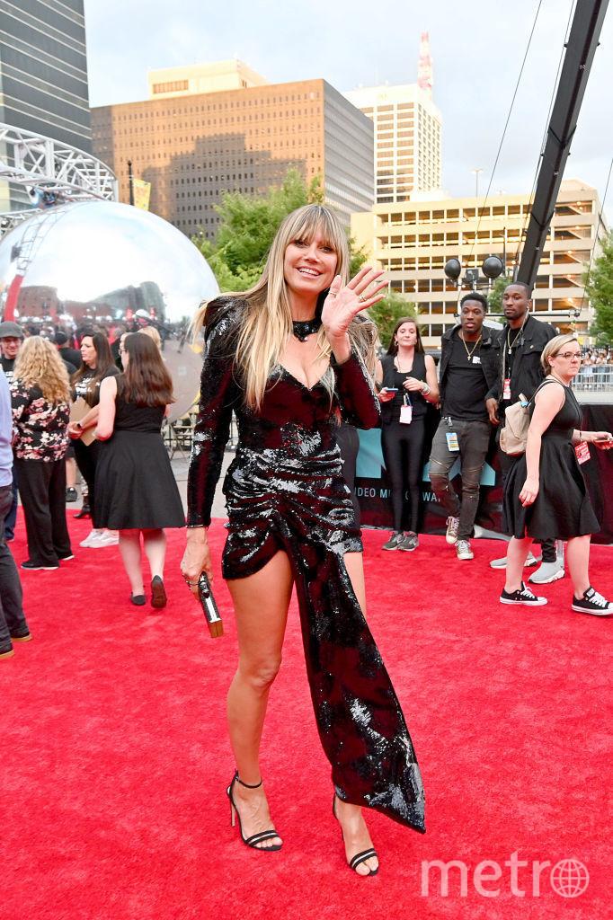 Video Music Awards-2019. Хайди Клум. Фото Getty