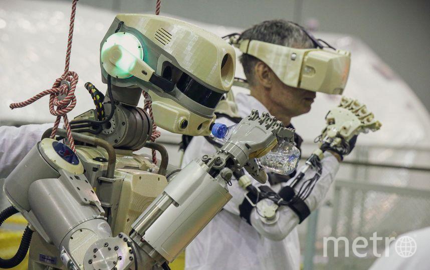 """Робот """"Фёдор"""". Фото AFP"""