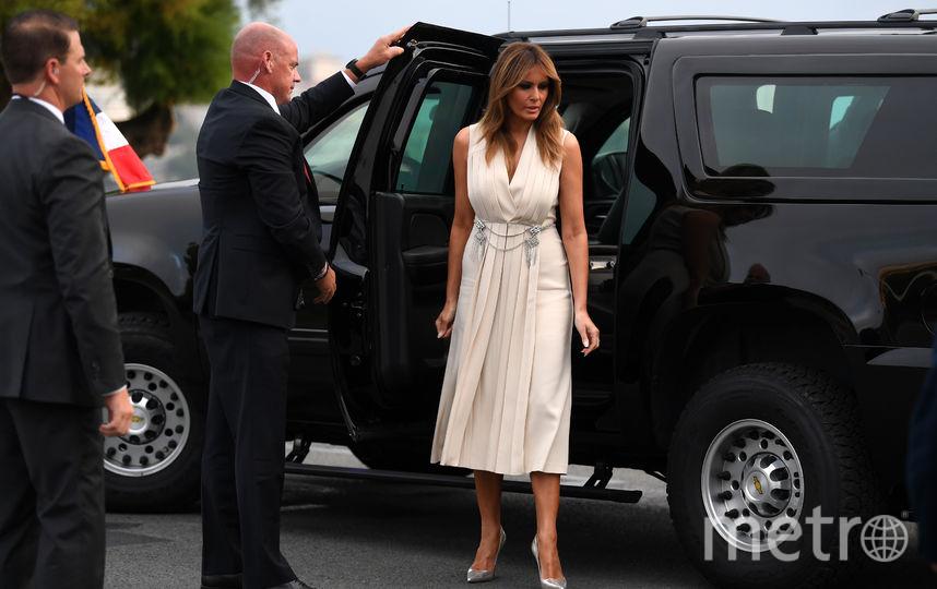 Мелания Трамп на саммите G7. Фото Getty