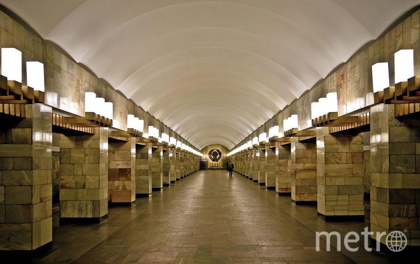 """Гражданский проспект. Фото Florstein, https://wiki2.org , """"Metro"""""""