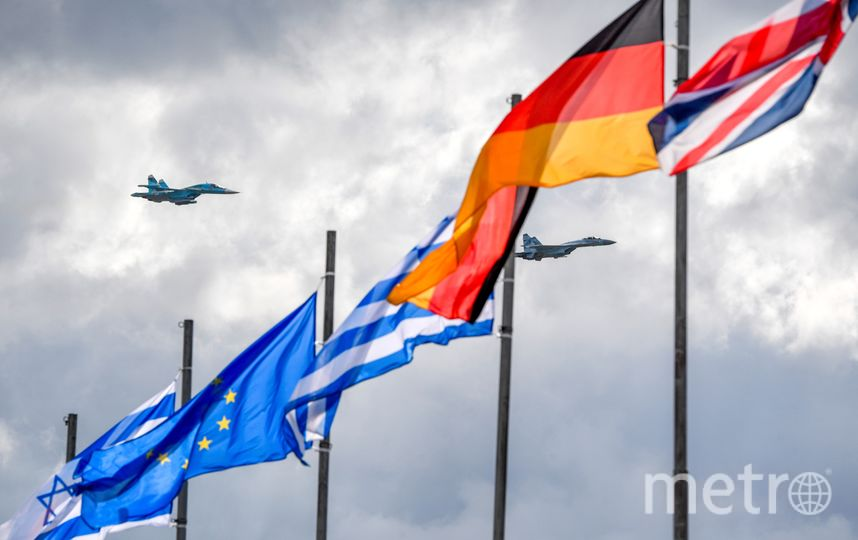 В Жуковском проходит 14-й Международный авиакосмический салон МАКС-2019. Фото AFP