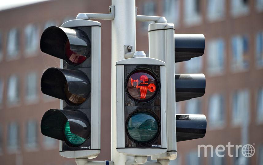 В Дании установили светофоры с викингами. Фото AFP