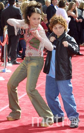 Алекса Вега и Дэрил Сабара в детстве. Фото Getty