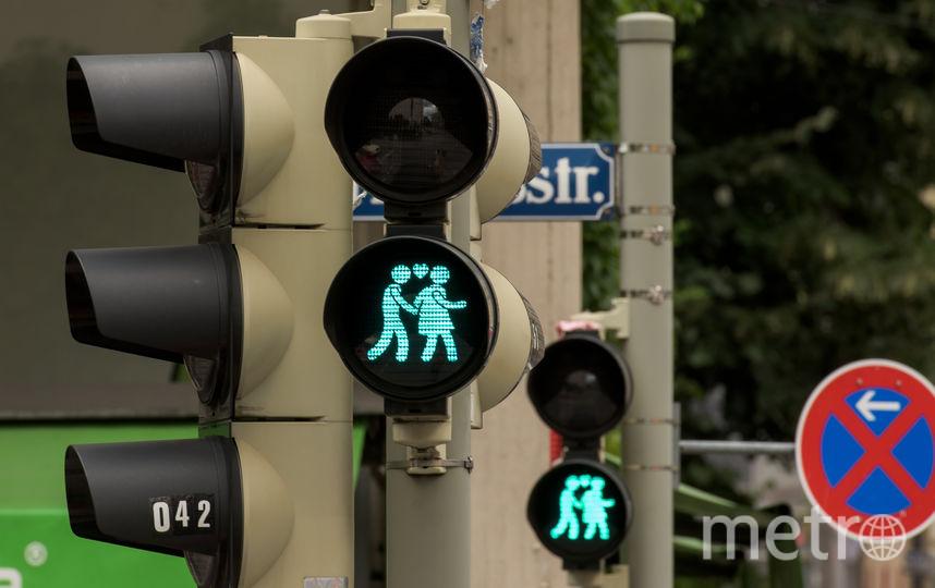 Светофоры в Вене. Фото Getty