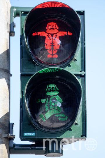 Светофор в Трире, Германия. Фото Getty