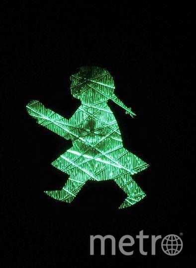 Женский вариант светофора в Германии. Фото pixabay.com