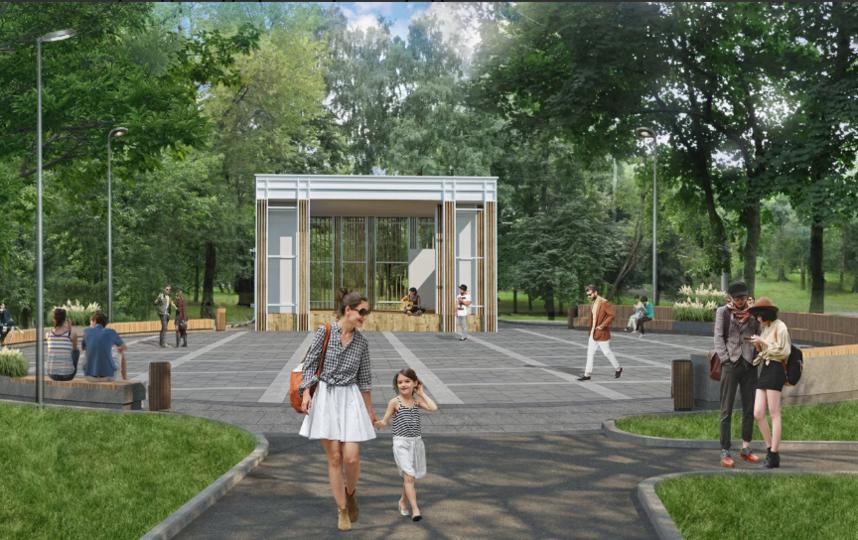 Проект парка. Фото mos.ru