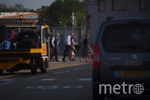 """Кейт Миддлтон с детьми и мужем вернулись в Лондон. Фото https://www.instagram.com/p/B1r6WohHu5v/, """"Metro"""""""