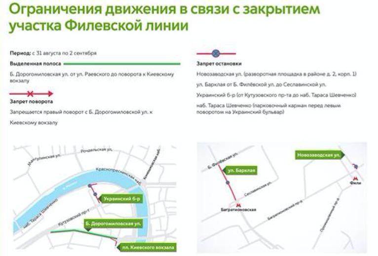"""Как ограничат движение транспорта на западе Москвы. Фото ЦОДД., """"Metro"""""""
