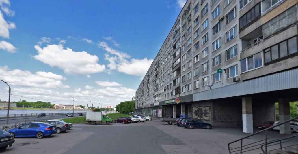 Октябрьская набережная. Фото скриншот Яндекс.Панорамы