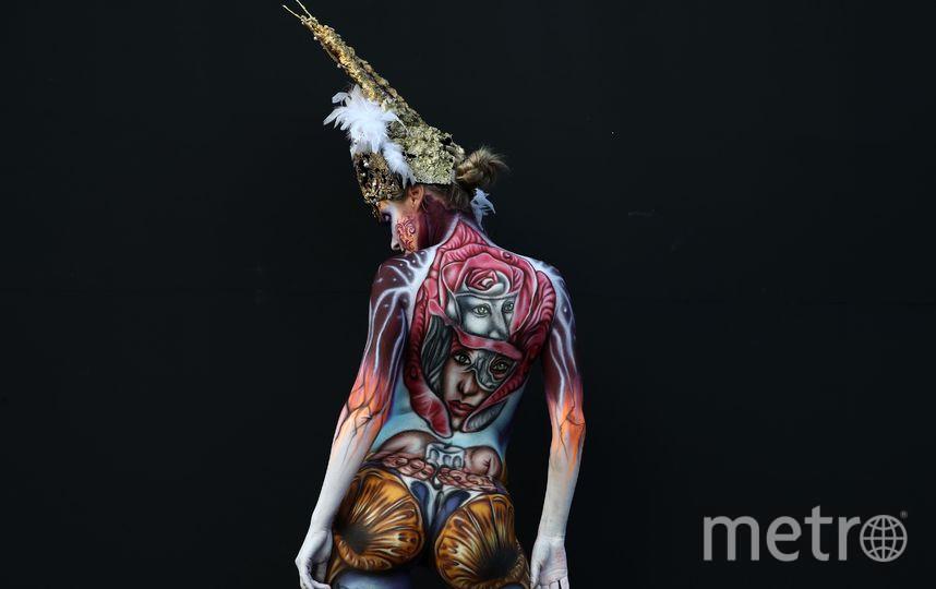 В Южной Корее прошёл Международный фестиваль по боди-арту. Фото Getty