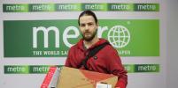Москвич получил приз за участие в конкурсе Metro Cosplay 4 life