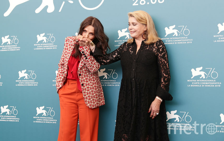 Жюльетт Бинош и Катрин Денев. Фото Getty