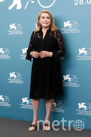 Катрин Денев на премьере фильма в Венеции. Фото Getty